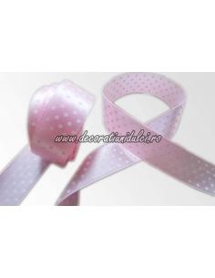 Banda roz cu bulinute