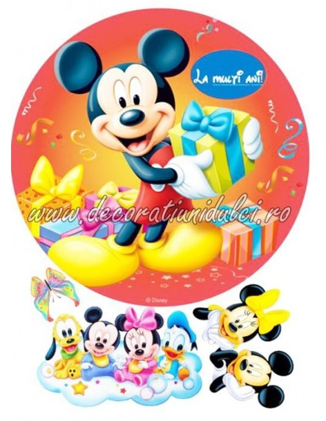 Imagine comestibila Mickey Mouse - 1