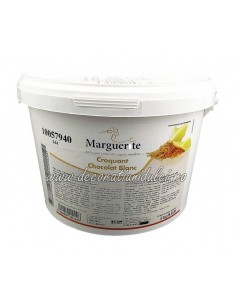 Pralin Croquant Chocolate Blanc, Marguerite