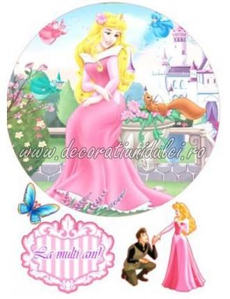 Imagine comestibila Aurora, frumoasa din padurea adormita