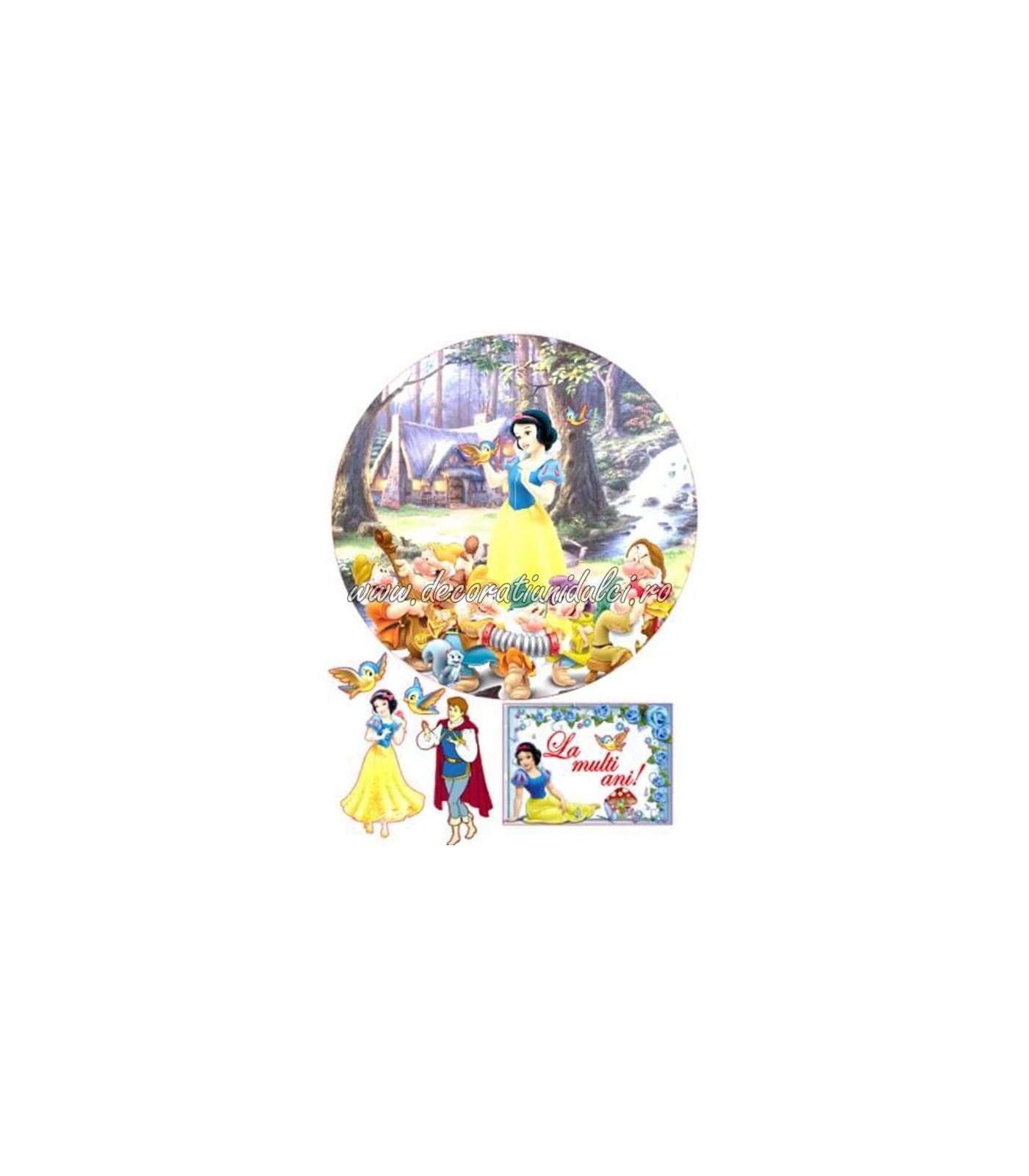 Imagine comestibila Alba ca Zapada si cei 7 pitici - 2