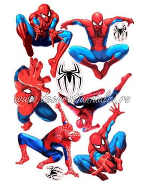 Imagine comestibila Spiderman - 7