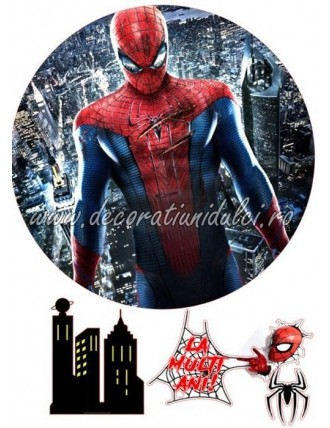 Imagine comestibila Spiderman - 1