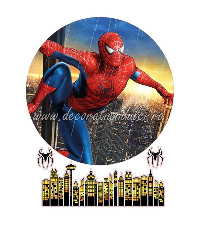 Imagine comestibila Spiderman - 2