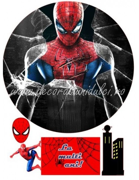 Imagine comestibila Spiderman - 3