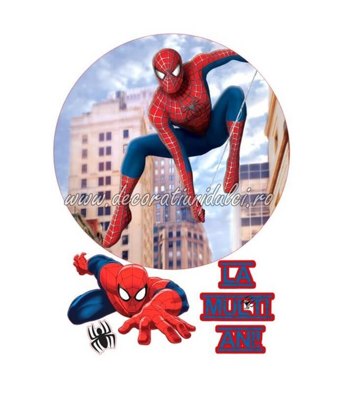 Imagine comestibila Spiderman - 4
