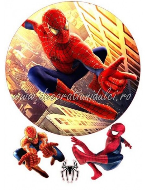 Imagine comestibila Spiderman - 5