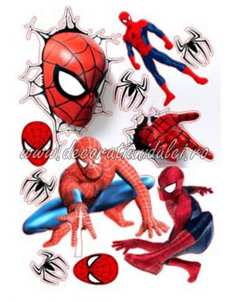 Imagine comestibila Spiderman - 6