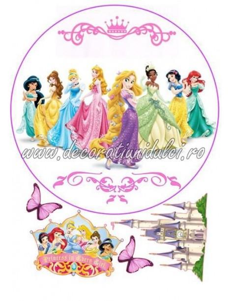 Imagine comestibila printesele Disney - 2