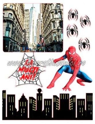 Imagine comestibila Spiderman - 8