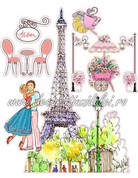 """Imagine comestibila Paris """"Je t' aime"""""""
