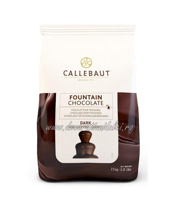 Ciocolata neagra pentru fantana de ciocolata (2,5kg) - Barry Callebaut