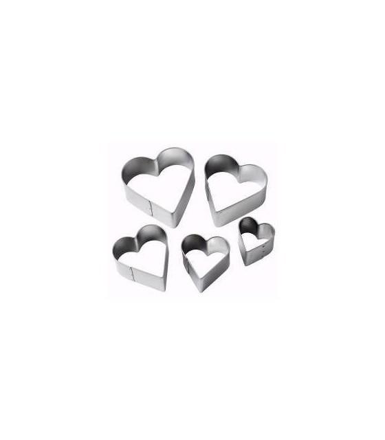 Decupatoare metalice inimi