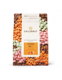 Barry Callebaut - Ciocolata alba cu gust de portocale