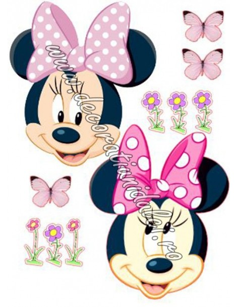 Imagine comestibila Minnie - 4