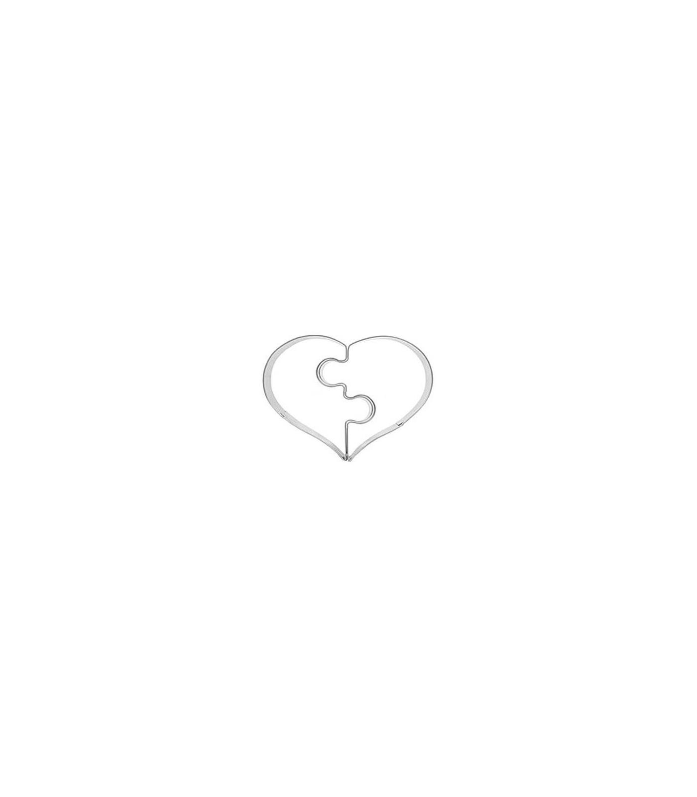 Decupator inima, puzzle