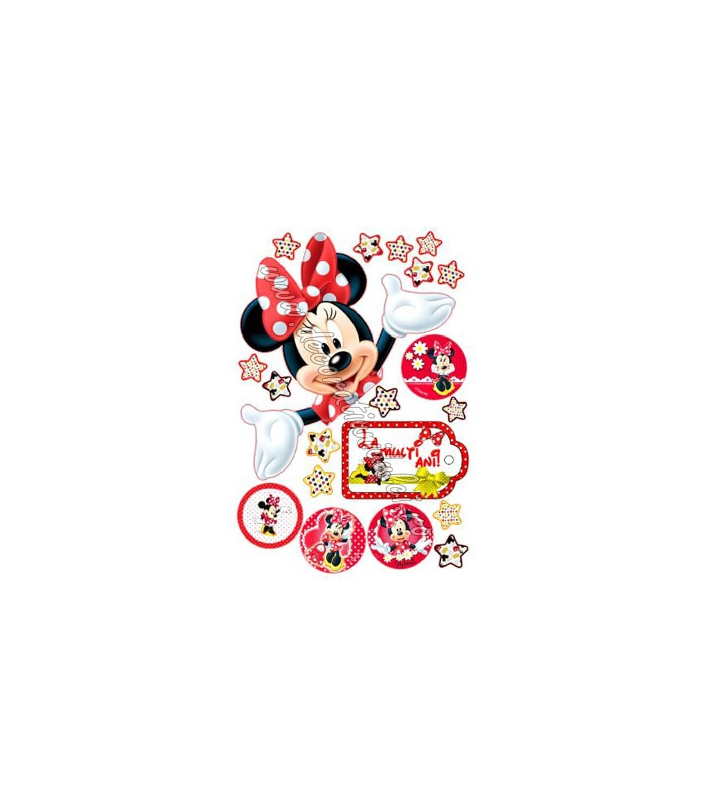 Imagine comestibila Minnie surpriza