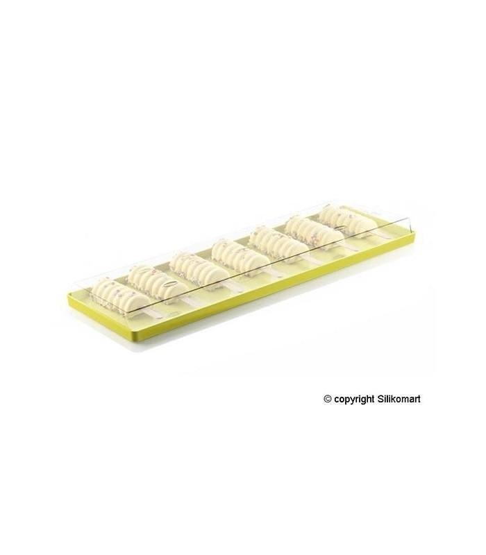 Set 2 tavi policarbonat Silikomart