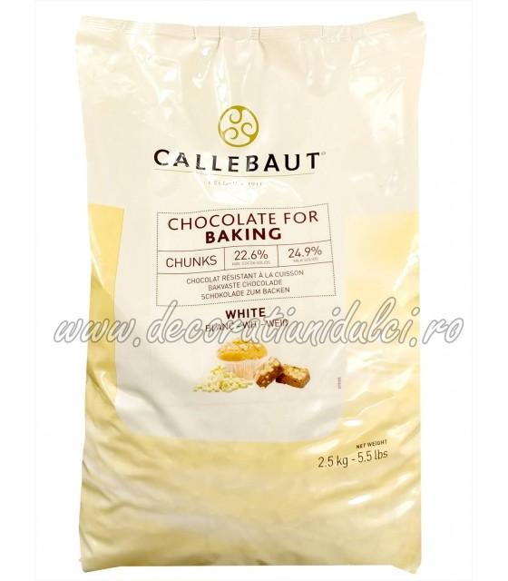 Chunks, ciocolata alba termostabila