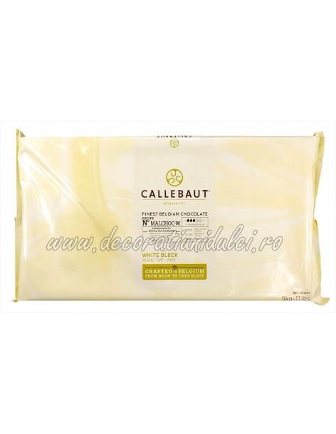 Ciocolata alba, fara zahar, Barry Callebaut