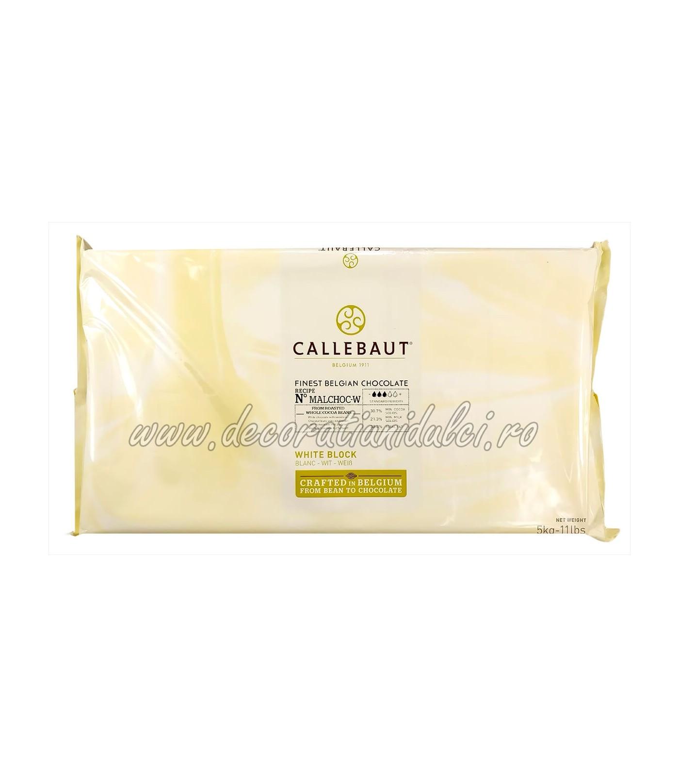 Ciocolata alba Barry Callebaut, fara...