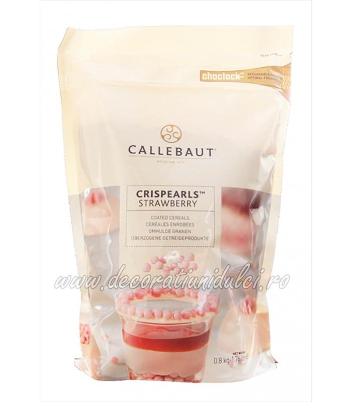 Crispearls cu capsune, Barry Callebaut