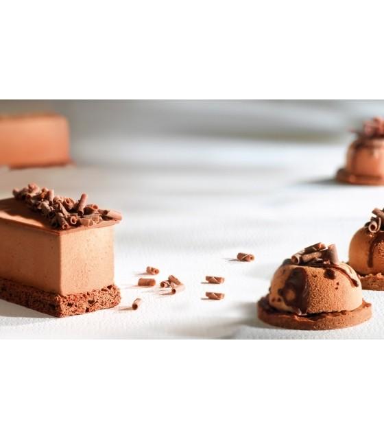 Blossom, bucle din ciocolata cu lapte, Callebaut