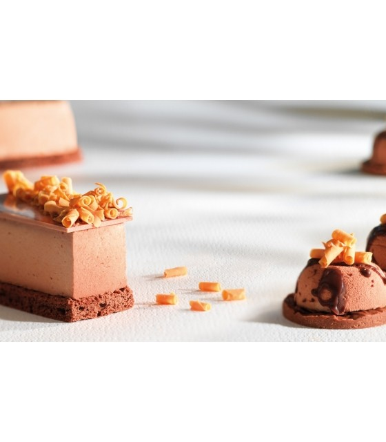 Blossom, bucle din ciocolata cu caramel, Callebaut