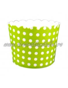Cupe cerate verzi buline albe