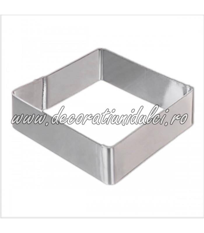 Decupator metalic patrat