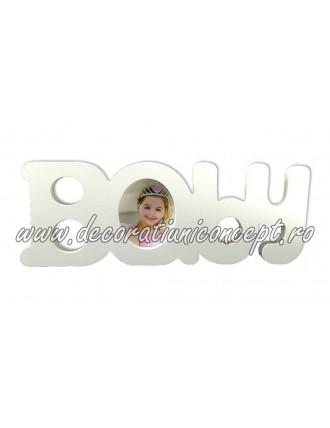Litere decorative Baby cu spatiu foto