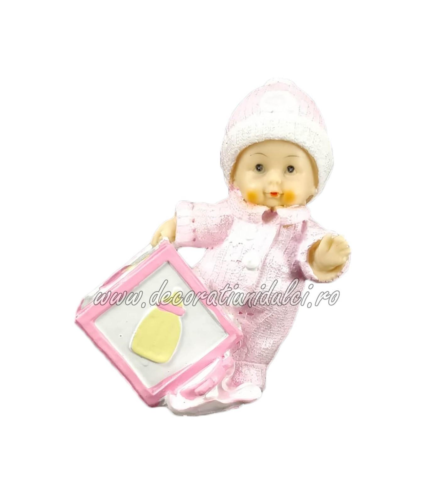 Topper fetita cu cub