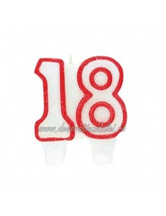 Lumanare tort majorat, 18