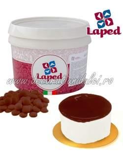 Glazura Oglinda Ciocolata, LAPED 3kg
