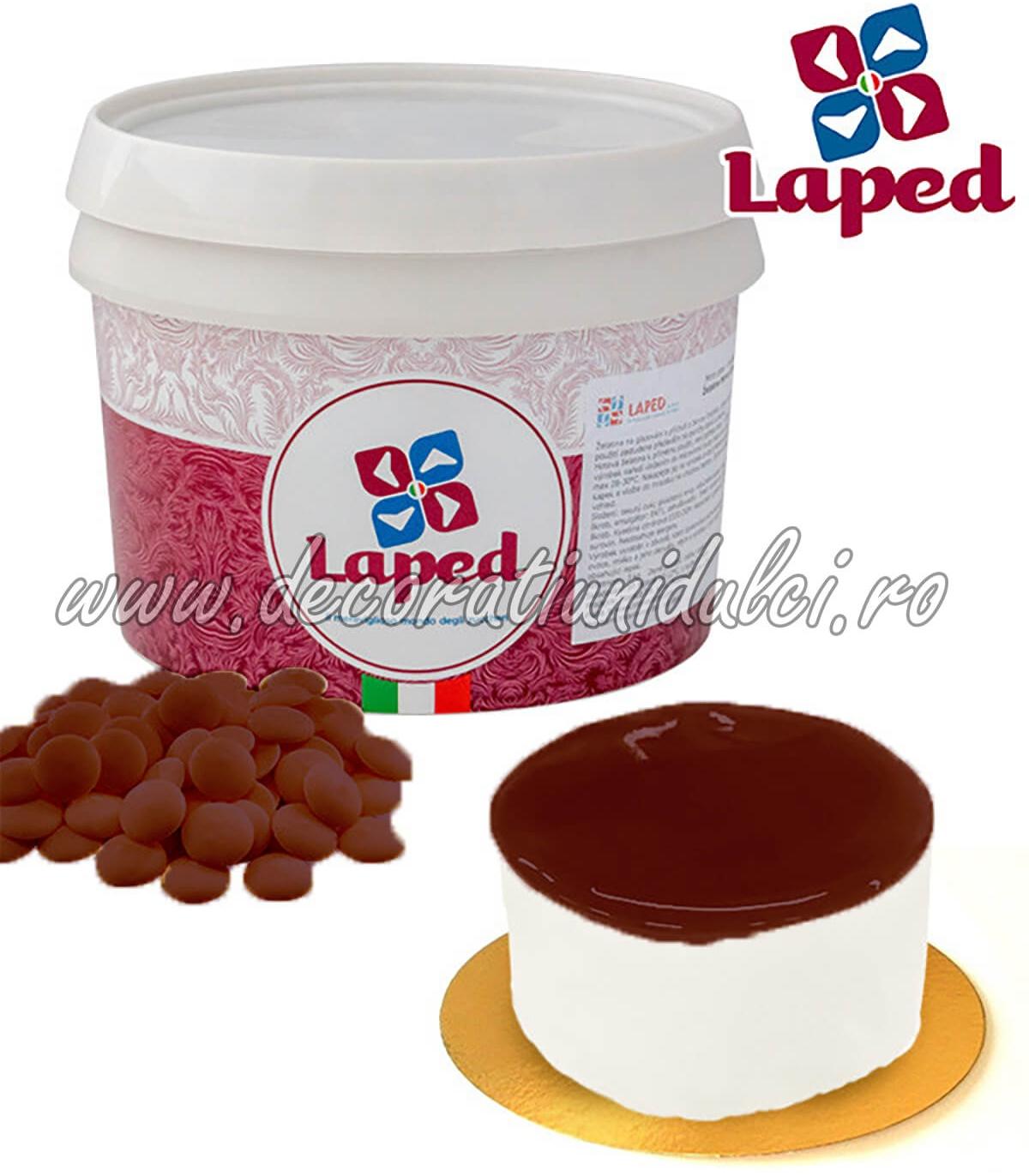 Glazura Oglinda Ciocolata Laped 3kg