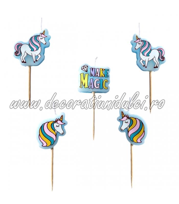 Lumanari unicorn