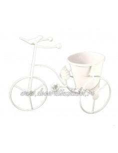 Bicicleta decorativa cu pasare