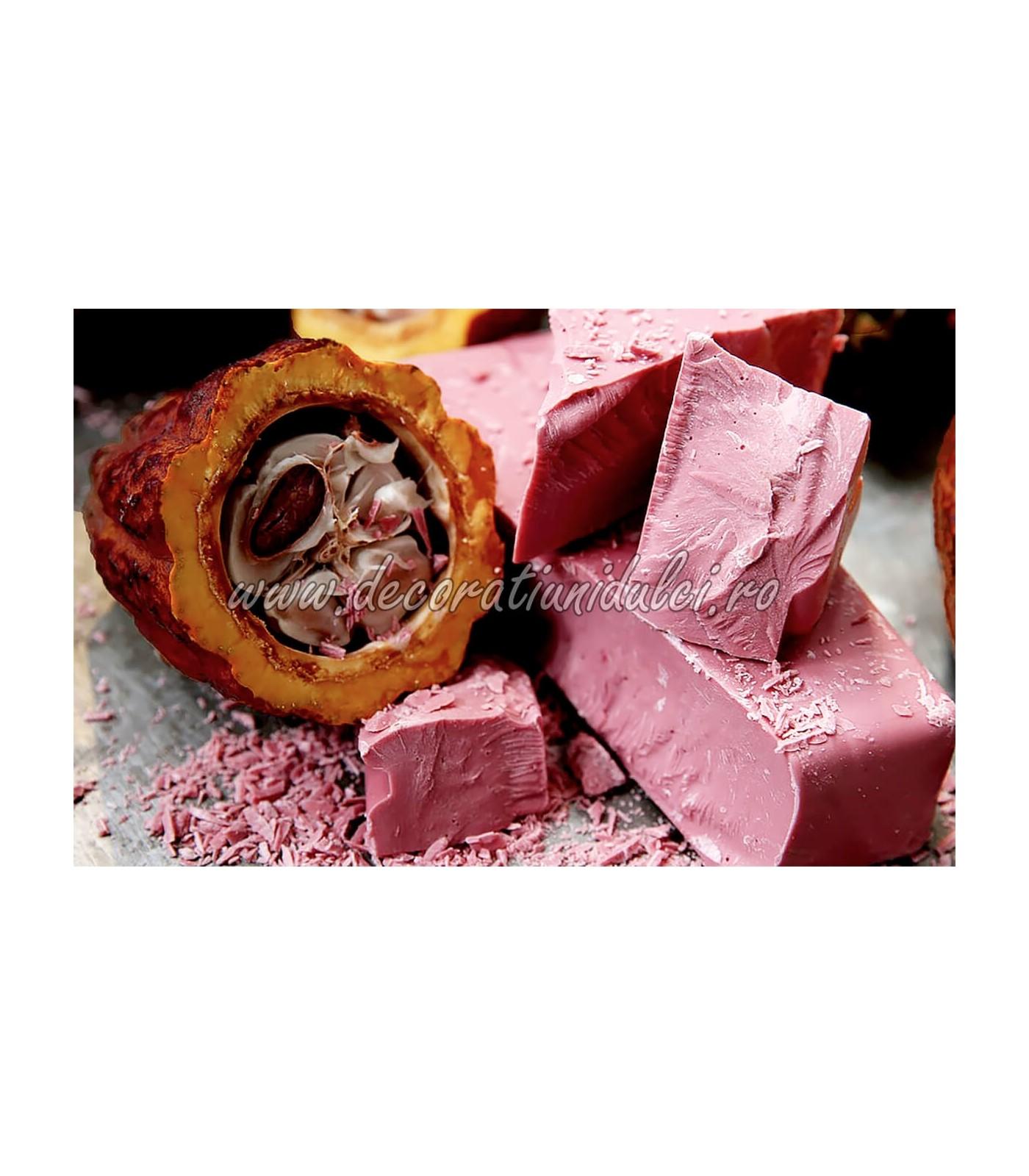 Ciocolata Callebaut Ruby