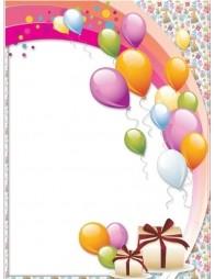 Imagine personalizata - Baloane Colorate