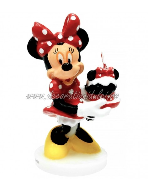 Lumanare 3D Minnie Mouse...