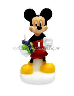 Lumanare 3D Mickey Mouse Modecor