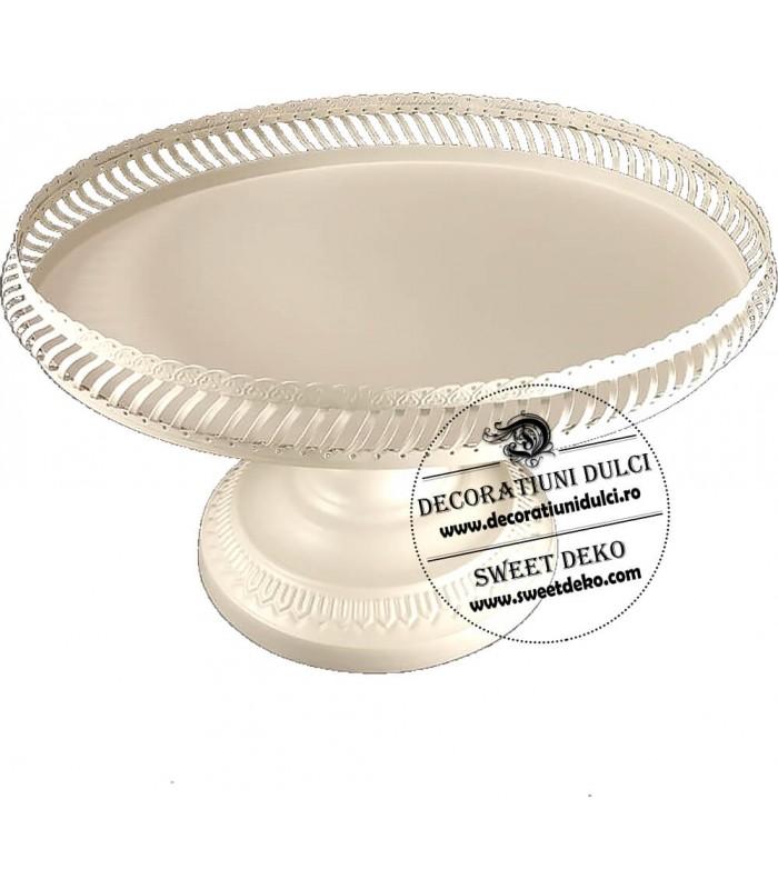 Suport oval, pentru prajituri