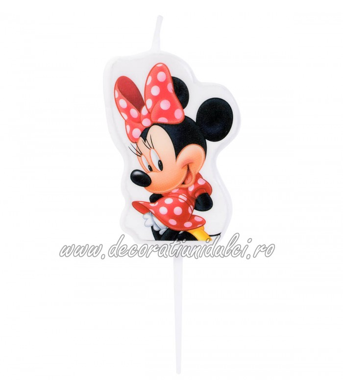 Lumanare 2D Minnie