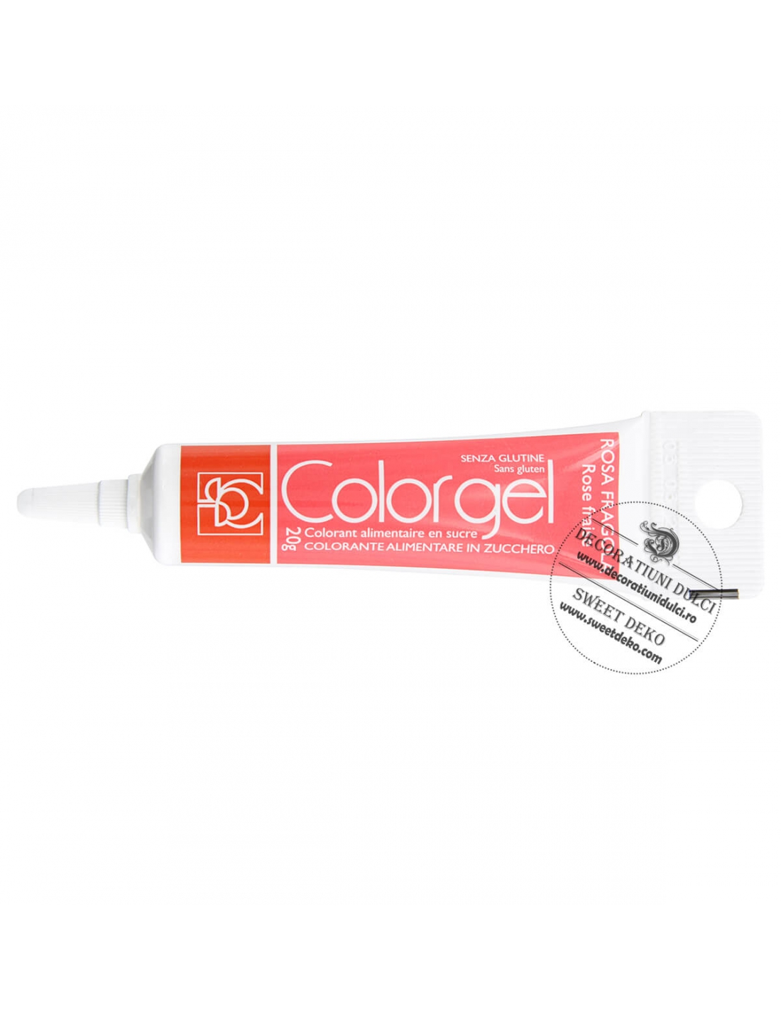 Colorant rosu capsuna - ROSA FRAGOLA Modecor