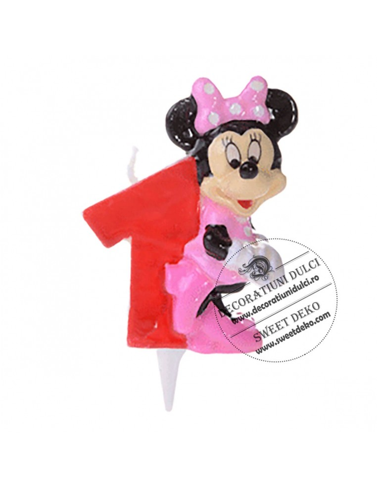 Lumanare Minnie Mouse 1
