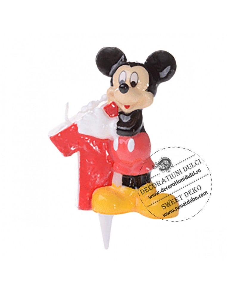 Lumanare Mickey Mouse 1