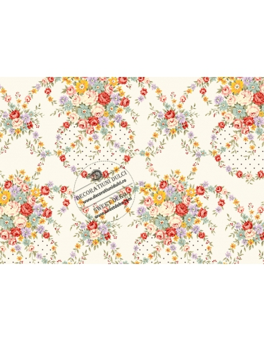 Textura coronita flori