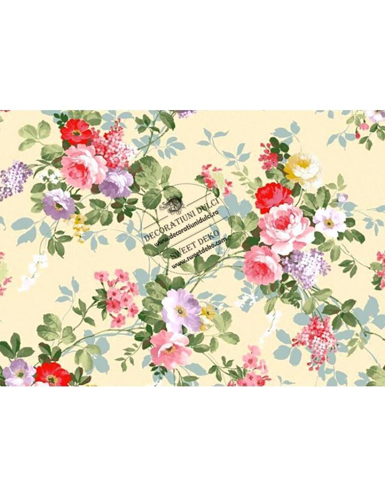 Imagine comestibila Buchete cu flori