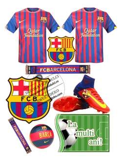 Imagine comestibila FCB