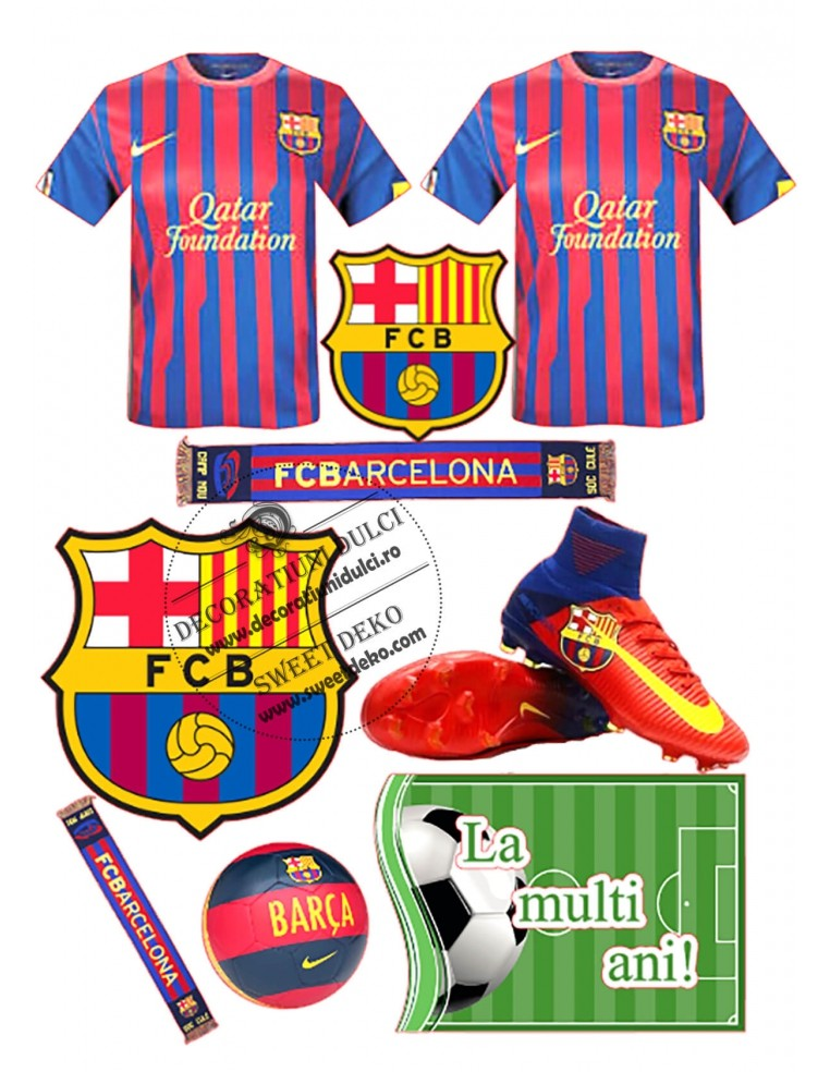 Imagine comestibila FCB